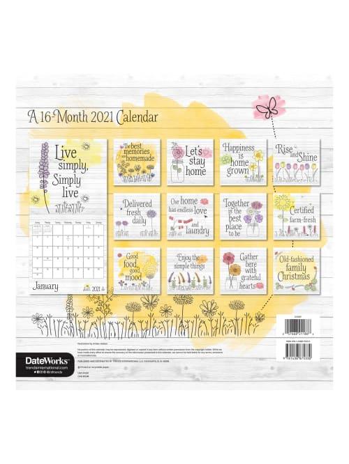Dateworks Calendar 2021