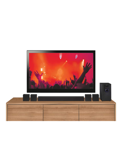 Ilive 5 1 Theater With Bluetooth Black Office Depot