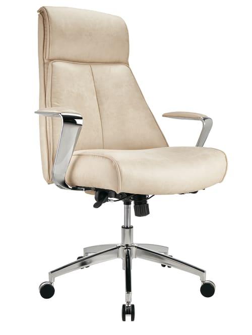 Reale Devley High Back Chair Cream