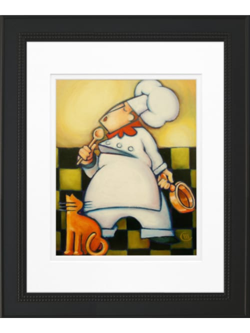 Timeless Frames Art Whimsical Chef Iii Office Depot