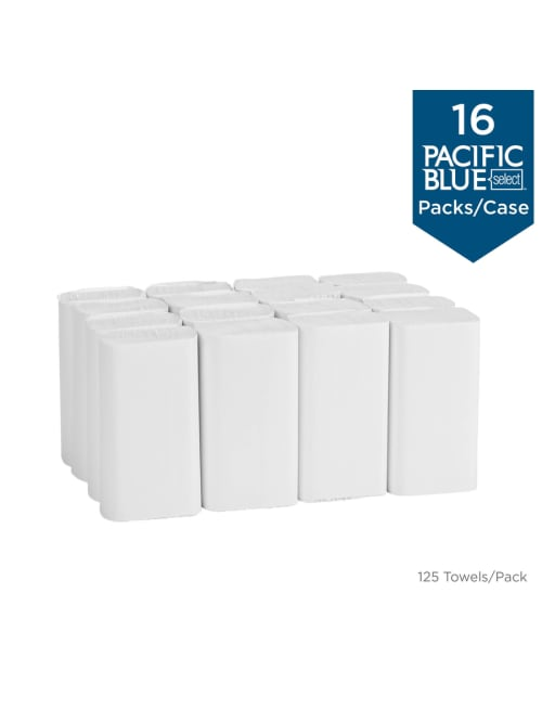 Georgia-Paci Pacific Blue Select Multifold Premium 2-Ply Paper Towels by GP PRO