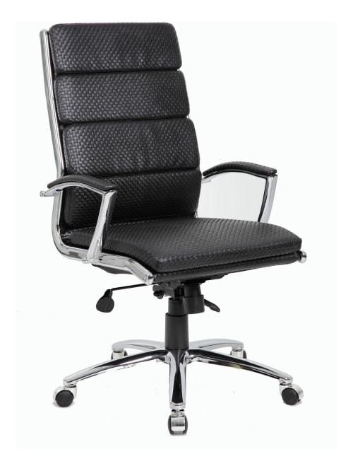 Boss Textured Caressoftplus High Back Chair Office Depot