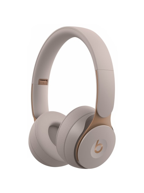 Beats By Dr Dre Solo Pro Wireless Noise Cancelling Headphones Grey Stereo Wireless Bluetooth Over The Head Binaural Circumaural Noise Canceling Gray Office Depot