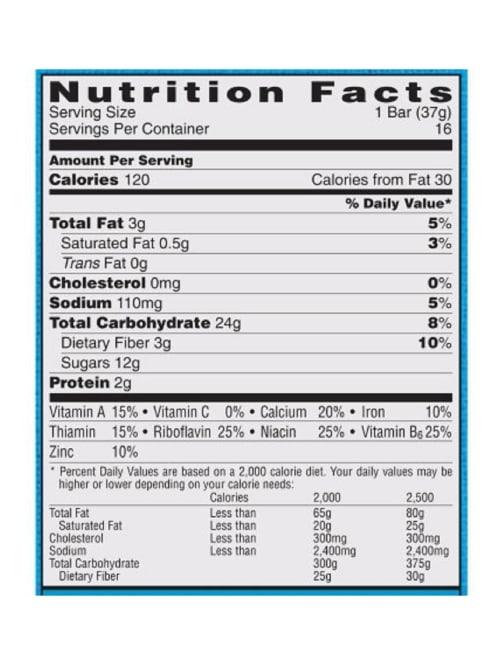 Nutri Grain Bars Apple Cinnamon 1.3 Oz