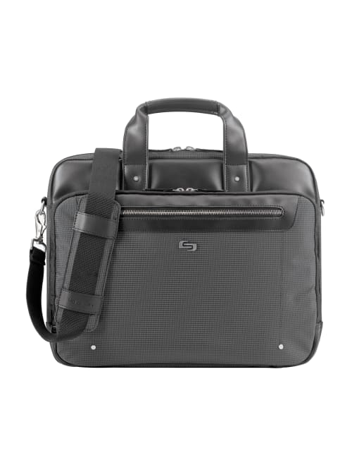 Solo Park Briefcase With 15 6 Laptop