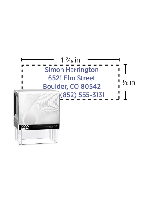 - // 4 Unit Dry Ink Cartridge for CUSTOMSTAMP1