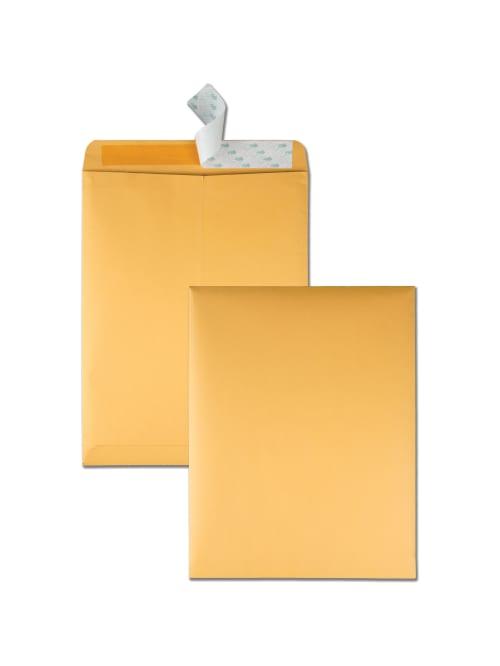 "Qty10 White Quality Park 10"" X 13""Self-Seal Catalog Envelopes"