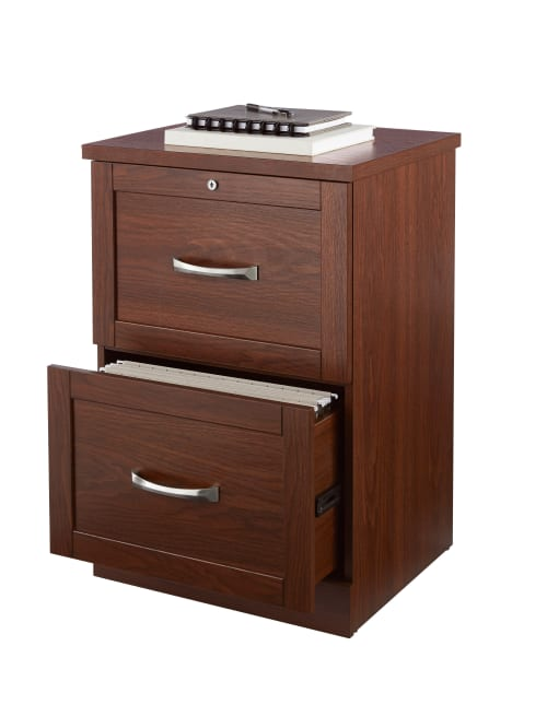 Realspace Cabinet 2 Drawer Vertical, File Cabinet 2 Drawer With Lock