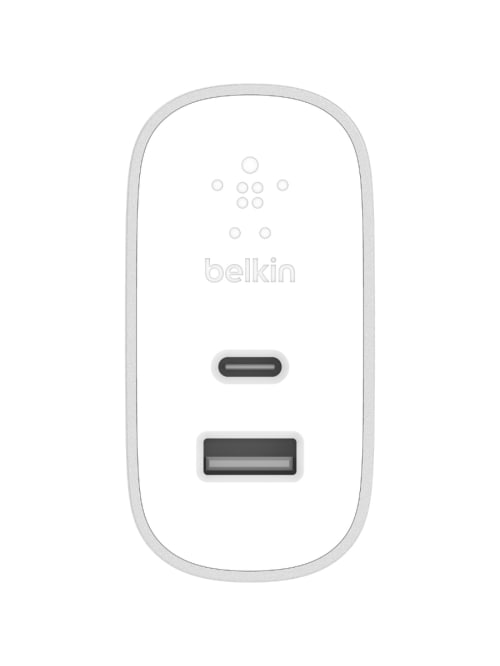 Belkin BOOST↑CHARGE 27W USB C + 12W USB A Home Charger 5 V DC Output Item # 7089142