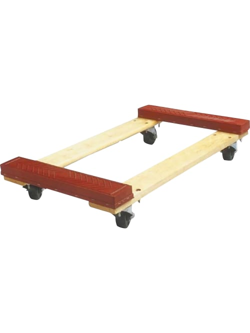 Sparco Cross Member Dolly 1000 Lb Capacity Red Office Depot