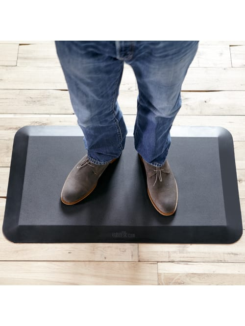 Standing Desk Anti-Fatigue Comfort Floor Mat ActiveMat Groove VARIDESK