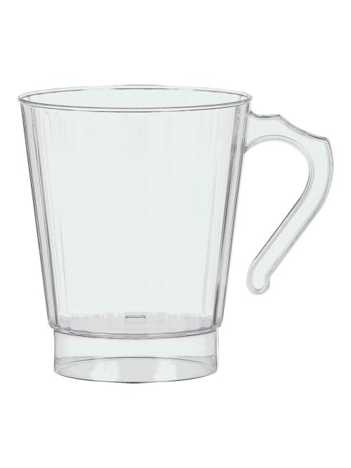 Amscan Coffee Mugs 8 Oz Clear 32 Pk