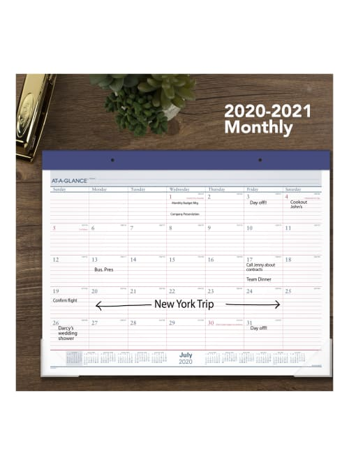 At A Glance Academic Calendar Ayst241721 Office Depot
