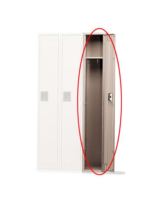 Tennsco Single Tier Locker 1 Wide 72 H X 12 W X 18 D Sand Office Depot