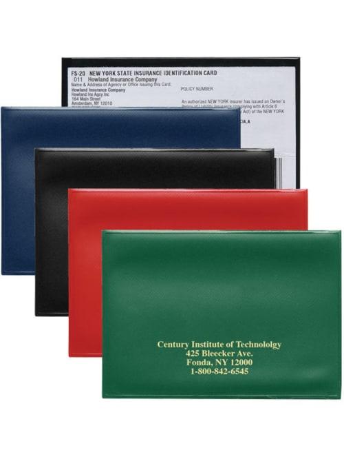 Auto Id Insurance Card Holder Office Depot