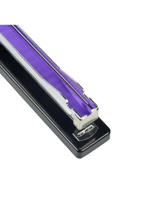 Purple Office Depot Brand Mini Half-Strip Stapler with Color Staples