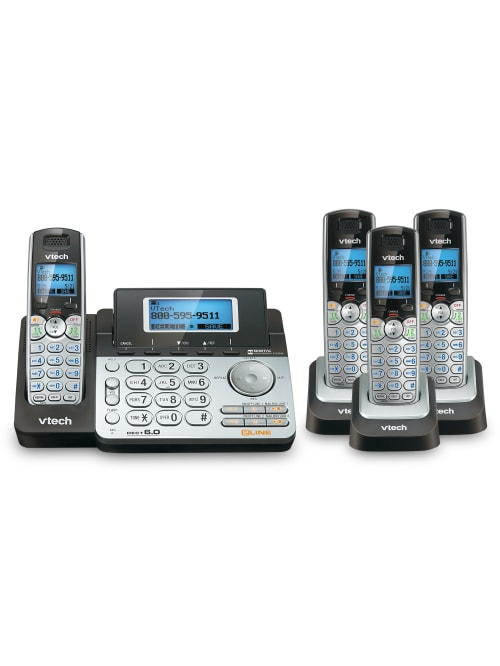 Vtech Ds6151 2 Line 4 Handset Dect 6 0