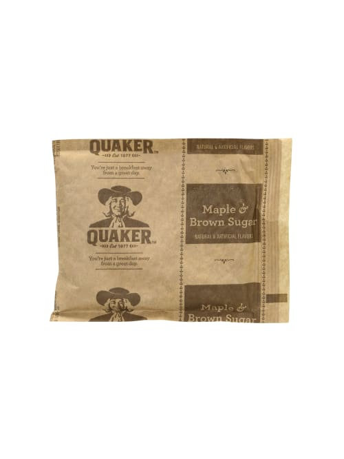 Quaker Instant Oatmeal Packets Maple