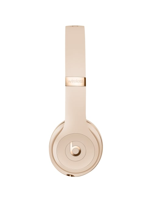 La Beats Solo3 Wrls Headphones Satin Gold Office Depot