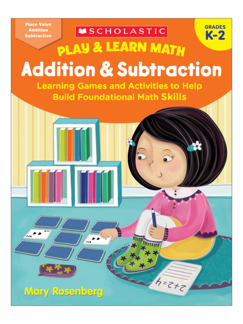 Scholastic Play And Learn Math Addition And Subtraction Kindergarten To 2nd  Grade - Office Depot