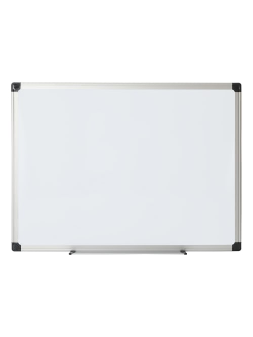 Office Depot Brand Non Magnetic Melamine Dry Erase Whiteboard 24 X 36 Aluminum Frame With Silver Finish Office Depot