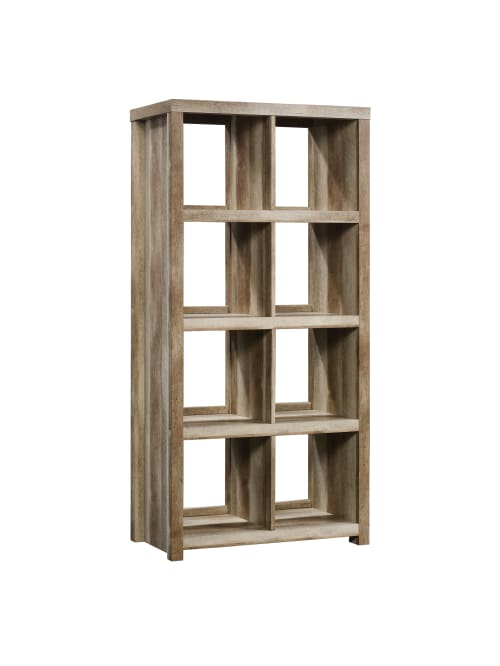 Room Divider 6 Compartments Bookcase Wall Shelf Filing Cabinet Shelf Office Shelf White