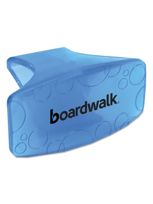 Boardwalk Toilet Bowl Air Freshener Block Bowl Clips Cotton Blossom Scent Blue Box Of 12 Clips Office Depot
