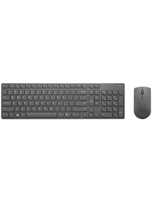 Lenovo Professional Ultraslim Wireless Combo Keyboard And Mouse Us English Usb Type A Wireless Rf English Us Usb Type A Wireless Rf 3200 Dpi Aaa Compatible With Pc Windows Office Depot