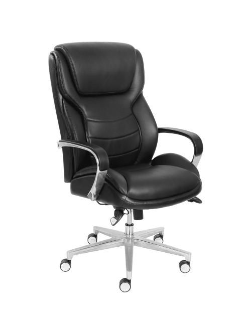 La Z Boy Comfortcore Executive Chair Black Office Depot