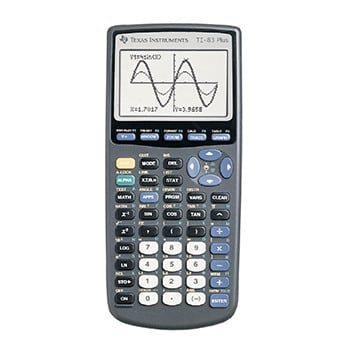 Texas Instruments® TI-83 Plus Graphing Calculator Item # 905739