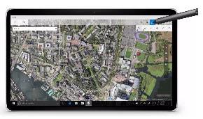 Windows Ink Map App