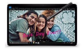 Windows Ink Photo App