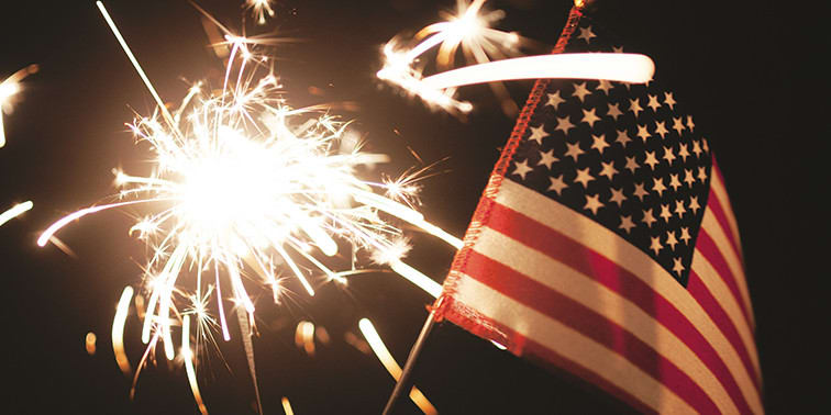 Patriotic Partying: Independence Day Is a Great Excuse to Take It Outside