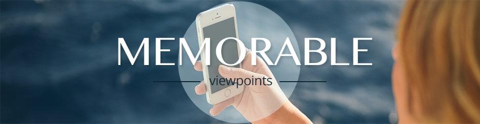 Memorable Viewpoints