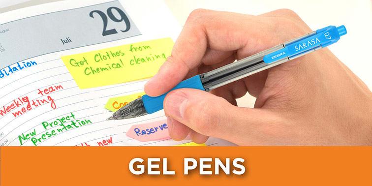 Zebra Gel Pens2