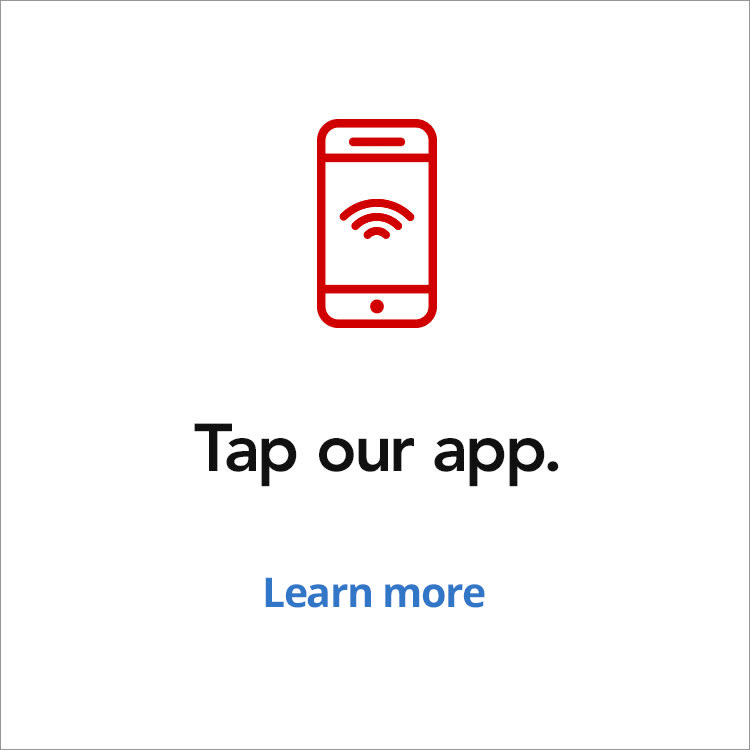 Tap our app