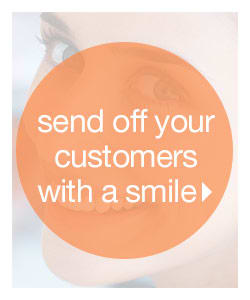 Send Off Your Customers With A Smile