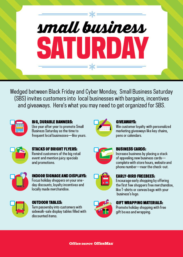 Getting Prepared for Small Business Saturday [Infographic]