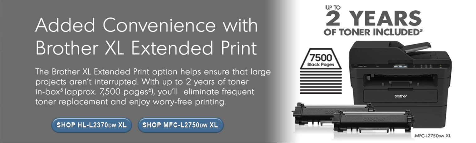 Brother XL Extended Print Convenience