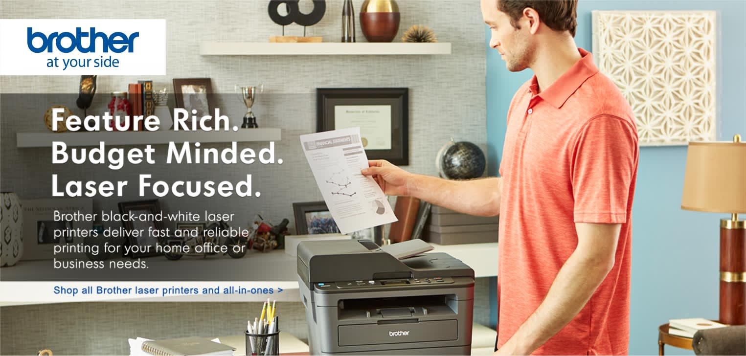 Shop All Brother Mono Laser Printers and All in Ones