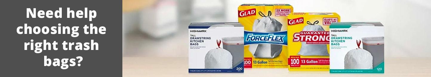 Need help choosing the right trash bags?