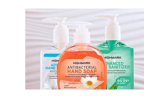 Highmark Soaps and Sanitizers