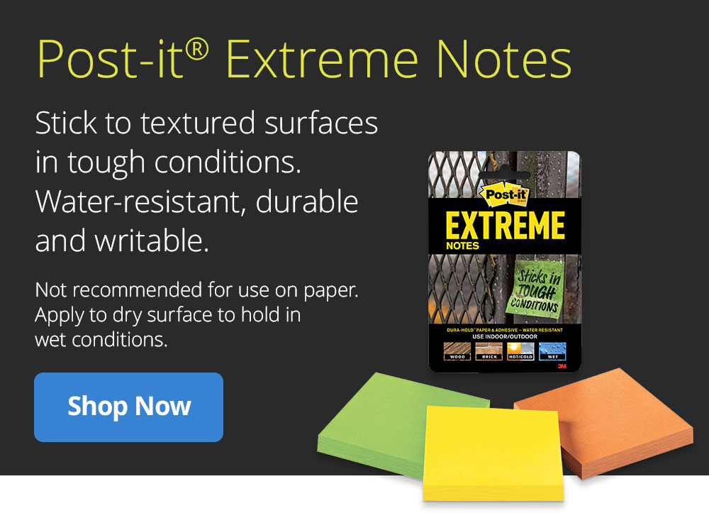 Shop Post-it Extreme Notes