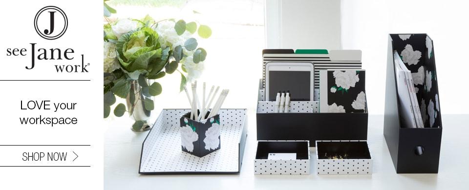 See Jane Work: Love Your Workspace