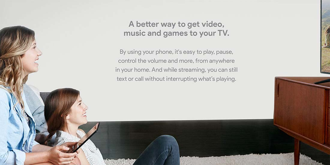 Google Chromecast Phone as Remote