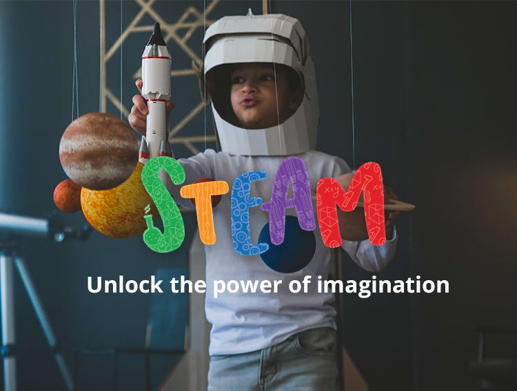STEAM - Unlock the power of imagination