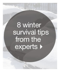 Winter Survival Tips From The Experts