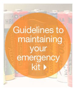 Guidelines to Maintaining Your Emergency Kit