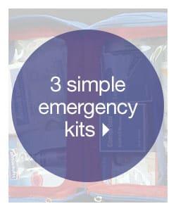 3 Simple Emergency Kits