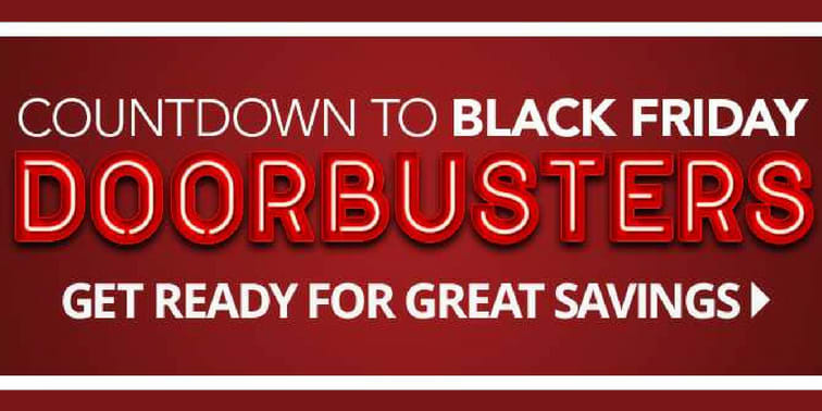 Countdown to Black Friday Doorbusters: Get Ready for Great Savings